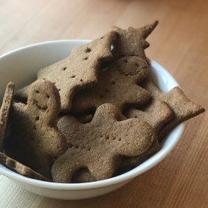 Gingerbread Crackers (Sourdough Discard)