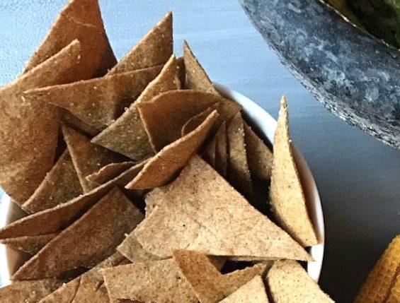 sourdough discard chips