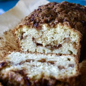 Sourdough Discard Apple Fritter Quick Bread