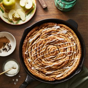 Skillet Cinnamon-Apple Bread_Photo